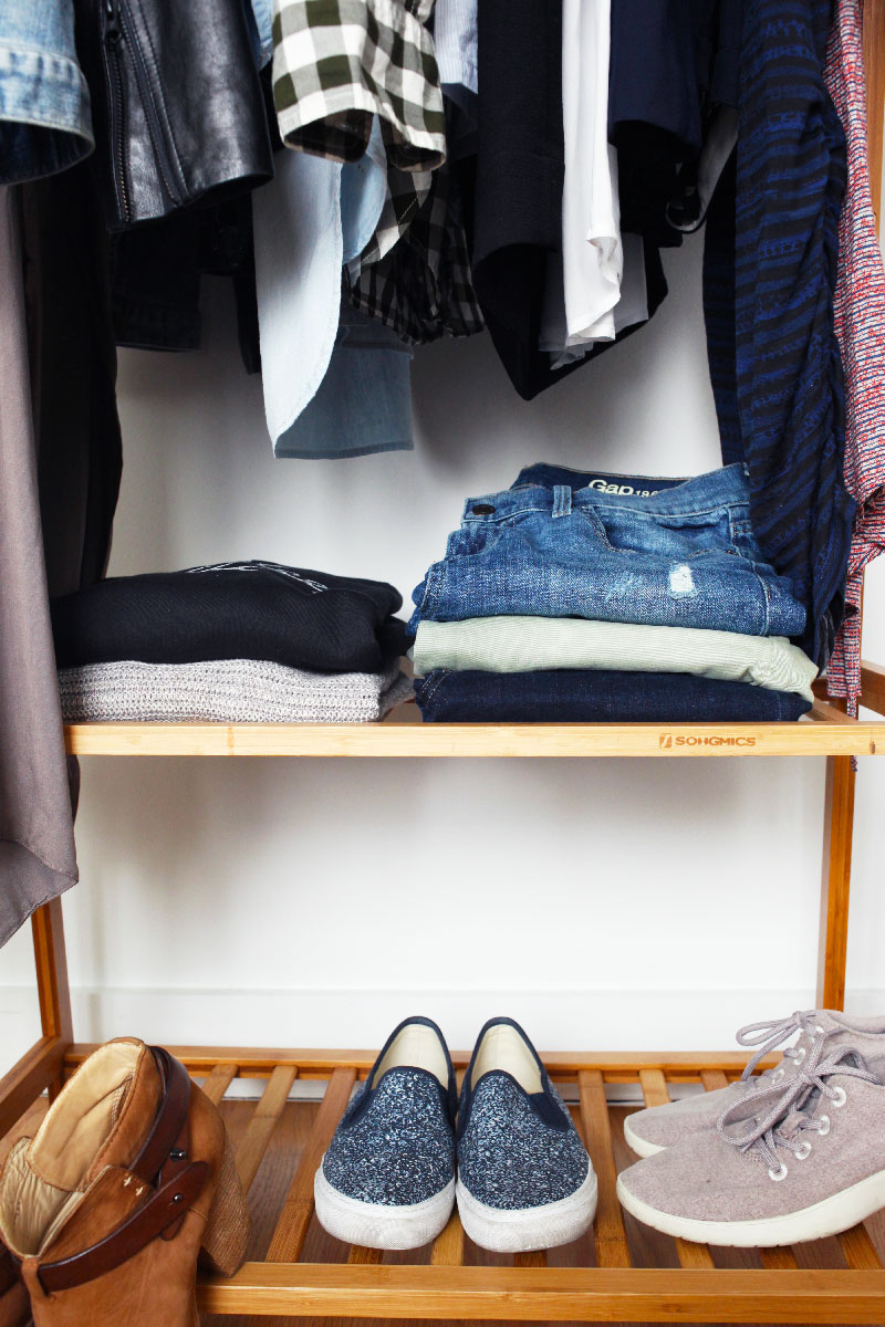 My First Capsule Wardrobe by @24carrotlife // A capsule wardrobe is a 19-27 piece wardrobe warn for one season without shopping before switching out the clothes for the next season.