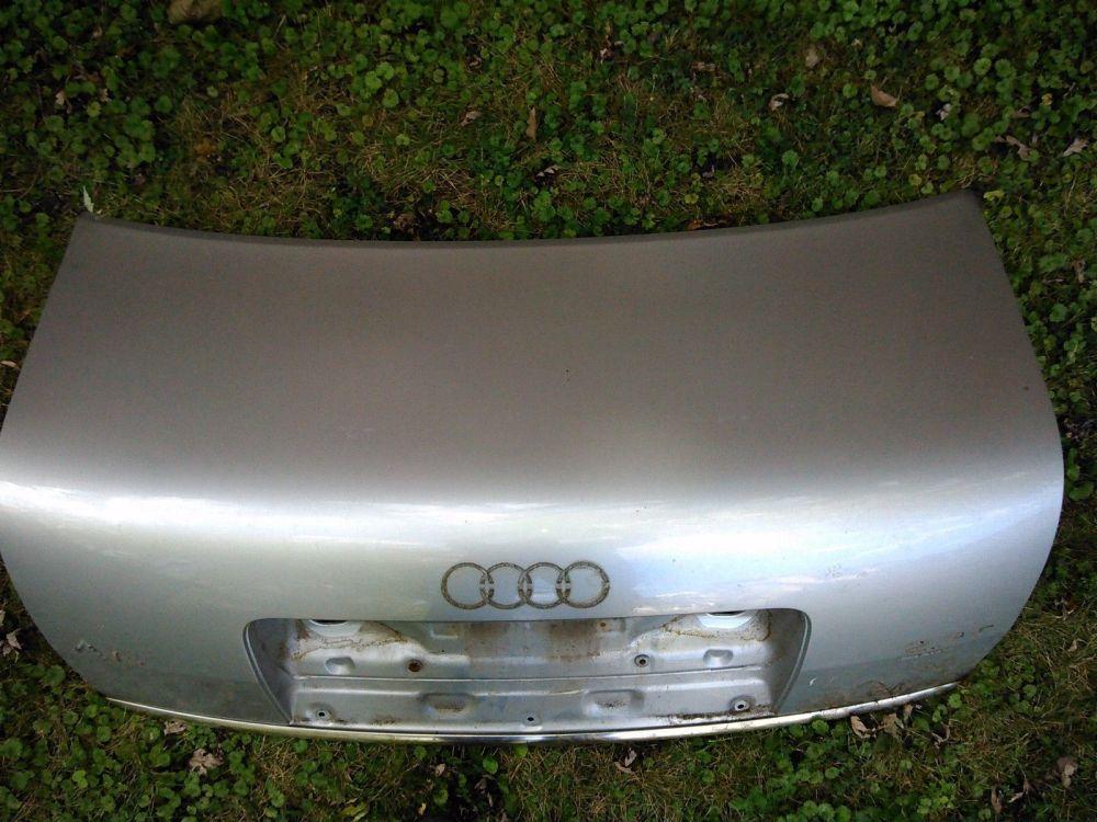 medium resolution of 2001 audi a6 trunk metal shell light silver