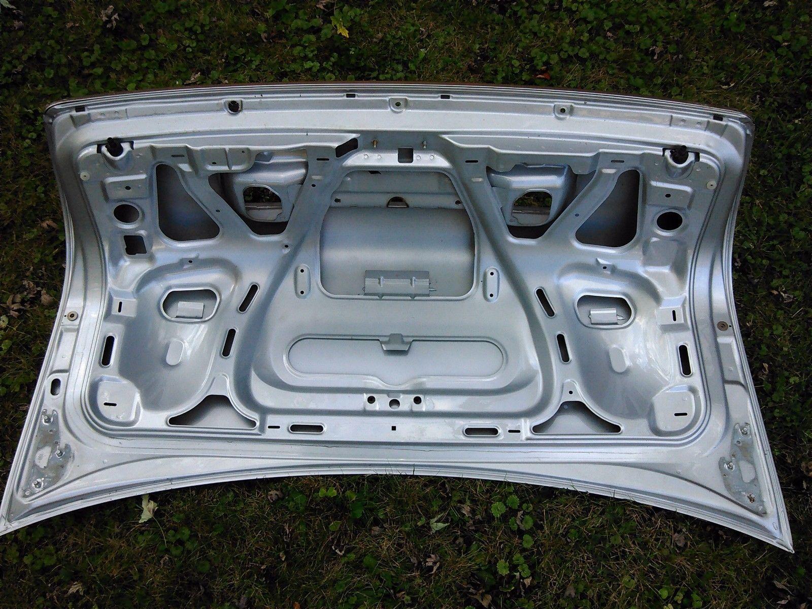 hight resolution of 2001 audi a6 trunk metal shell light silver