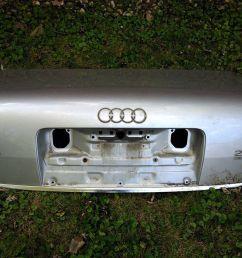 amazing 2001 audi a6 trunk metal shell light silver 2018 [ 1600 x 1200 Pixel ]