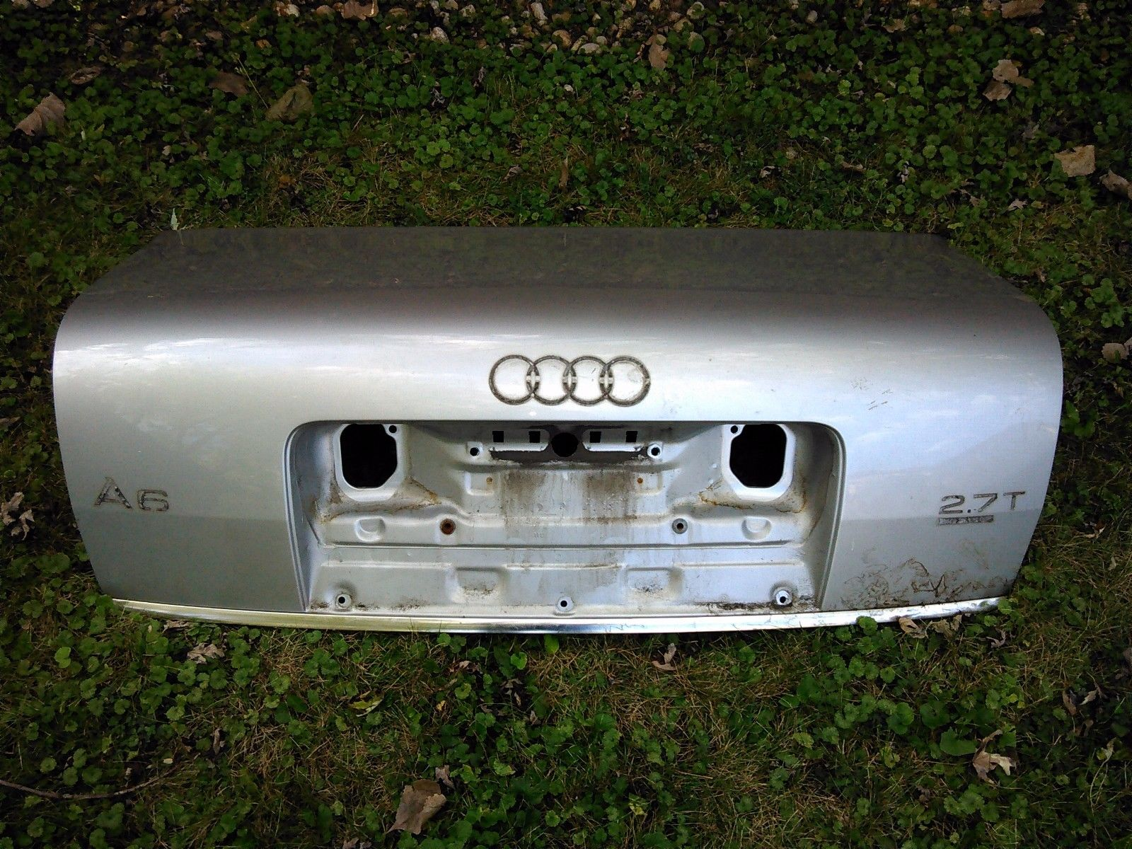 hight resolution of amazing 2001 audi a6 trunk metal shell light silver 2018