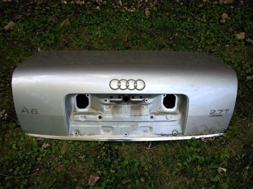 small resolution of amazing 2001 audi a6 trunk metal shell light silver 2018