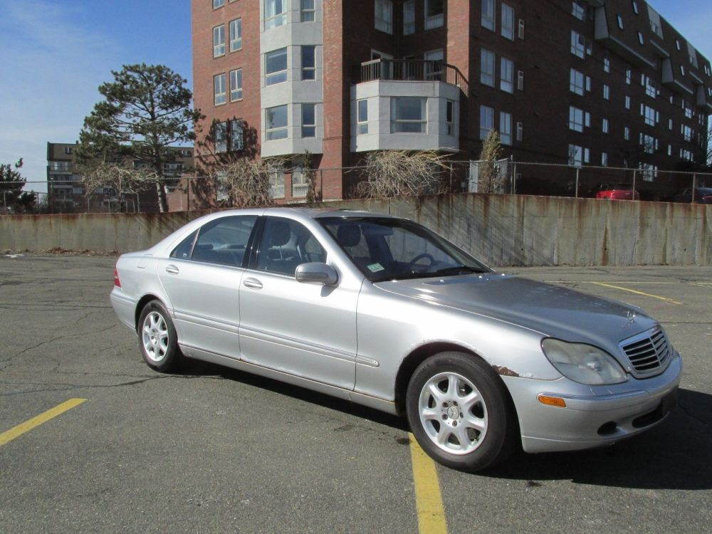 medium resolution of great 2002 mercedes benz s class s500 2002 mercedes s500 sedan 5 0l v8 auto rwd 115k no reserve 2018 2019