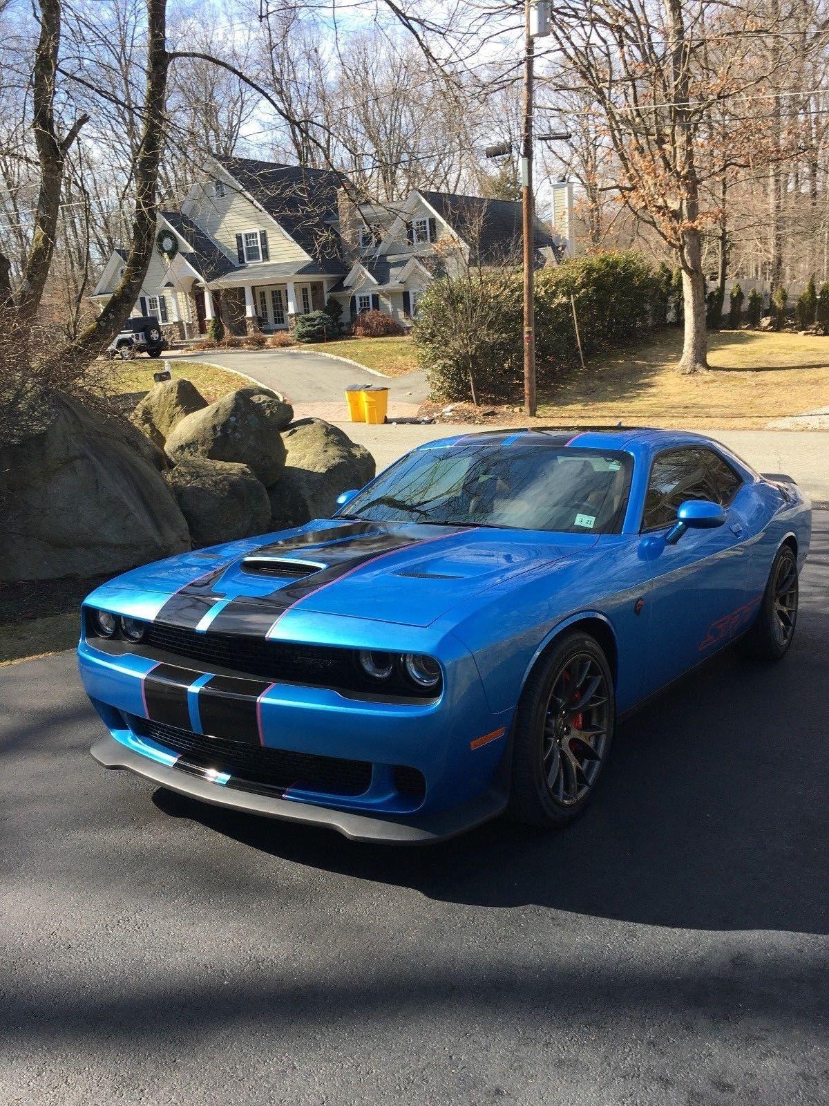 B5 Blue Challenger Hellcat : challenger, hellcat, Dodge, Challenger, Hellcat, LOOKING, 2018-2019, Stock, 24CarShop.com