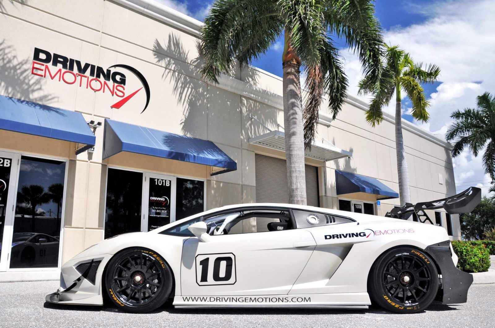 Amazing 2013 Lamborghini Gallardo Lp570 Super Trofeo Race