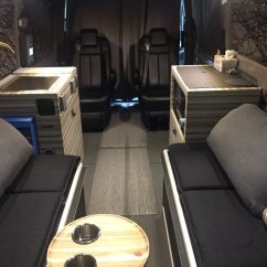 Swivel Chair Mercedes Sprinter French Barrel Amazing 2015 Benz Van