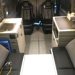 Swivel Chair Mercedes Sprinter Flip Bed Ikea Amazing 2015 Benz Van