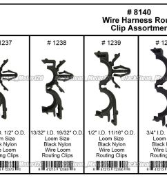 great 54 x wiring harness wire loom routing clips assortment convoluted conduit for gm 2018 2019 [ 1600 x 851 Pixel ]