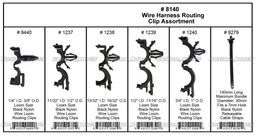 small resolution of great 54 x wiring harness wire loom routing clips assortment convoluted conduit for gm 2018 2019