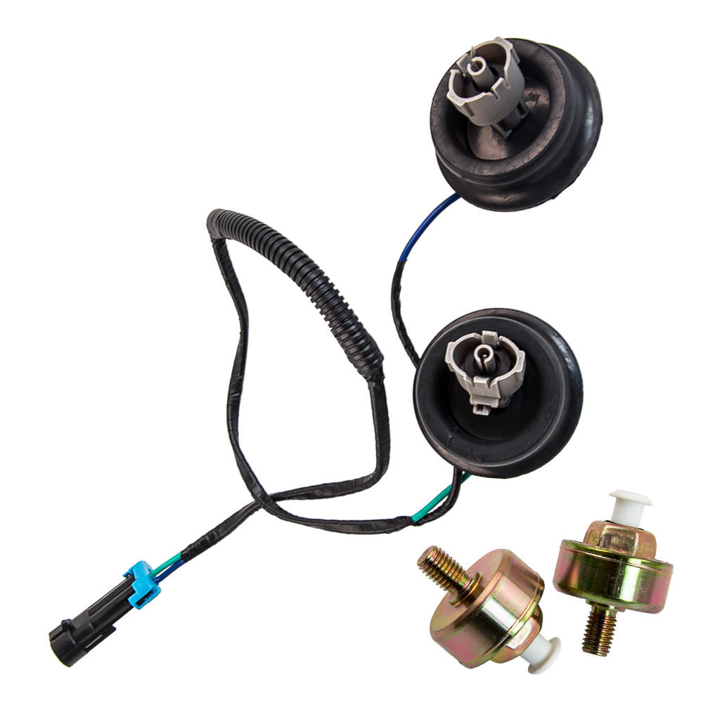 hight resolution of awesome 2x knock sensor w wire harness kit set for chevy gmc silverado sierra cadillac 2017 2018