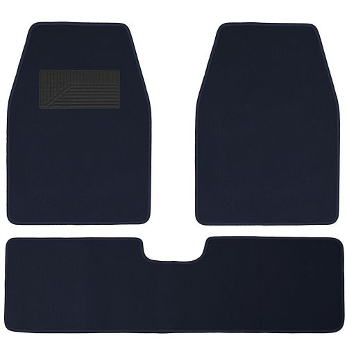 small resolution of awesome auto floor mats for ford car truck suv van 3pc full set heavy duty blue carpet 2017 2018
