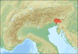 Friuli and Veneto region