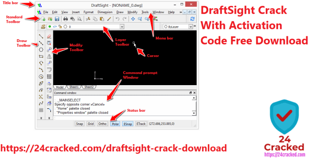 DraftSight Crack With Activation Code Free Download