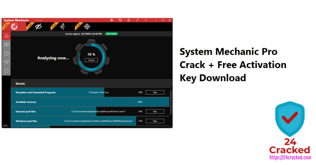 System Mechanic Pro Crack + Free Activation Key Download Latest