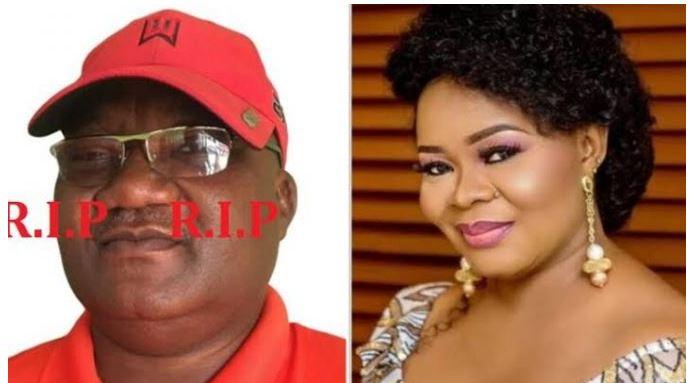 BREAKING: Nollywood Actress, Bimbo Oshin Loses Husband, Dudu Heritage
