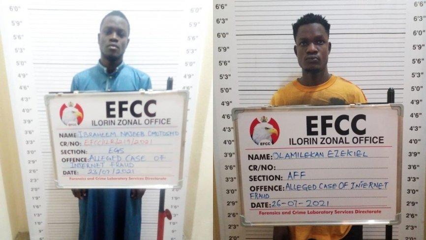 Ilorin Court Jails Two Undergraduates For Cybercrime Offences (Photos)