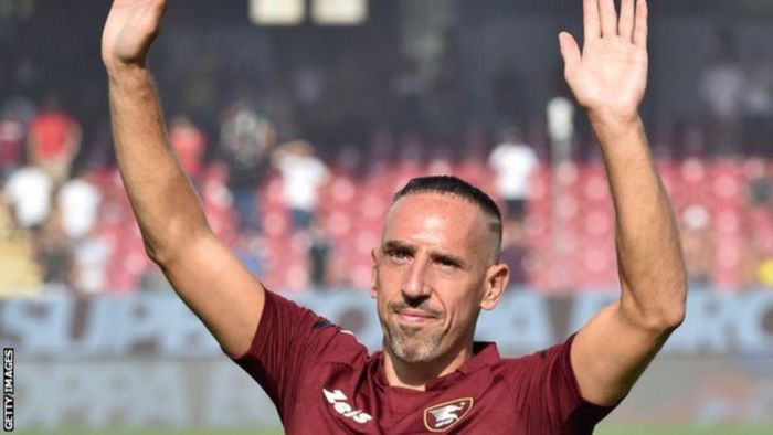 NEVER STOPPING!! France Winger Ribery Signs For New Club At 38 Years Old