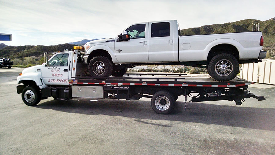 Cajon Pass Ford Towing