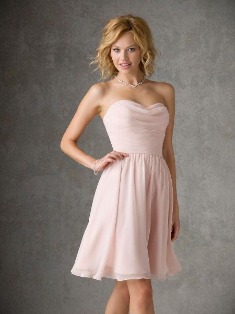 Junior Bridesmaid Dress Pink