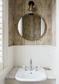 Fall's Bathroom Trend: Round Mirrors