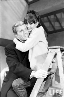 Elizabeth Ashley and Robert Redford