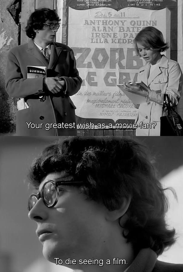 A cinephile's wish