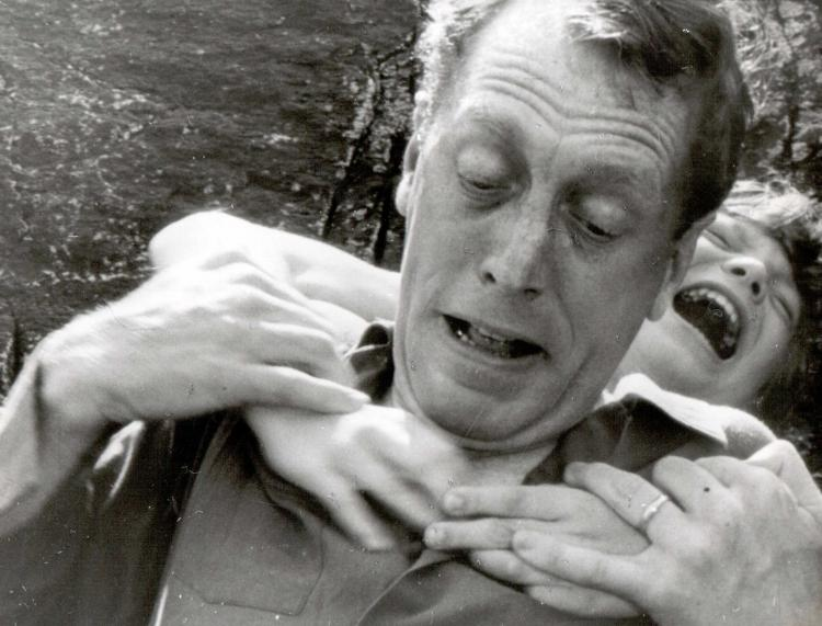 One of Johan Borg (Max von Sydow) many painful memories that has as a dream in Vargtimmen (Hour of the Wolf, 1968).