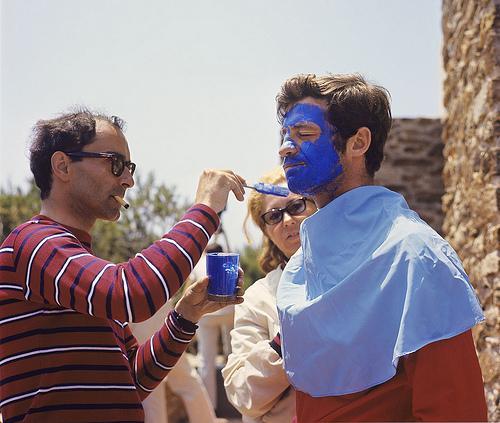 JLG & Jean-Paul Belmondo
