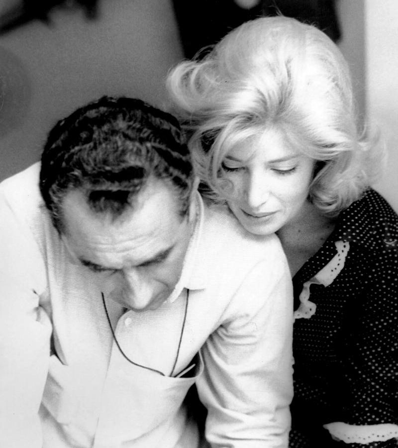 Antonioni on Vitti