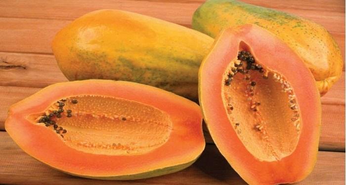 face pack of papaya