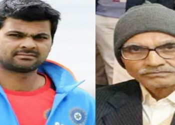 RP Singh's father dies