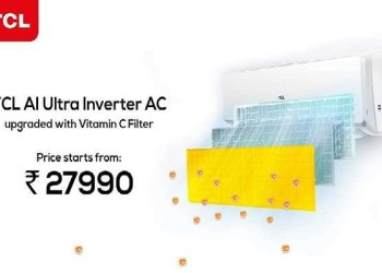 TCL launches its innovative AC with 3-in-1 filtration technology