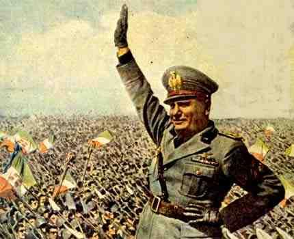 benito mussolini - italian-fascist-leader