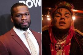 6ix9ine Recreates 50 Cent's 'in Da Club' Video