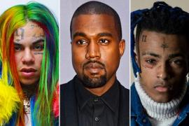 Kanye West Reveals Xxxtentacion, 6ix9ine Features On 'Yandhi'
