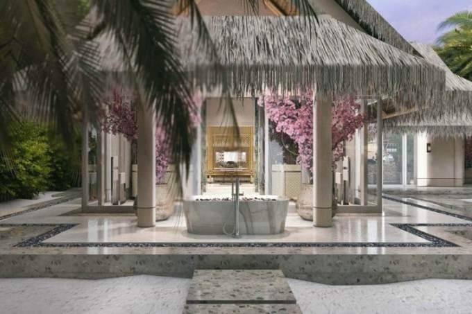 Beach-Villa-with-Pool at the Joali Maldives