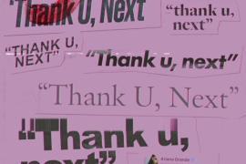 "NEW MUSIC: Ariana Grande – ""thank u, next"""