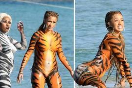 Cardi B Shoots City Girls 'Twerk' Video