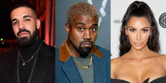 Kanye West Calls Out Drake For Following Kim On Instagram