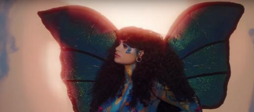 Watch Kehlani's Butterfly Video