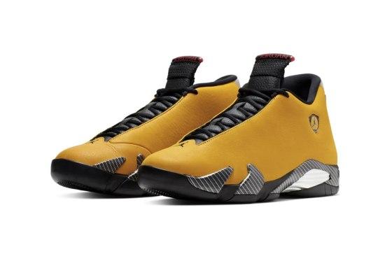 """Another Look At The """"Reverse Ferrari"""" Air Jordan XIV"""