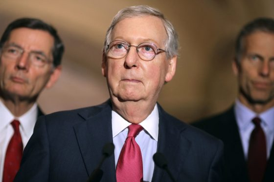 Mitch McConnell Says Slavery Reparations Aren't a Good Idea