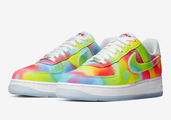 Nike Air Force 1 Tie-Dyed Summer Of Peace CK0838-100 Release Info