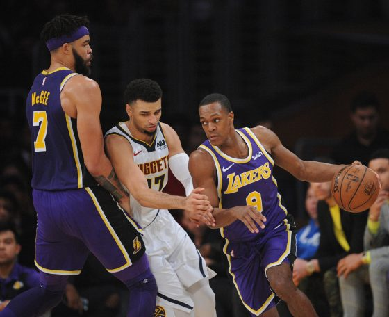 Los Angeles Lakers Re-Sign JaVale McGee, Rajon Rondo