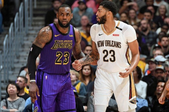 Nike Blocks LeBron James Jersey Swap, Anthony Davis Takes #3 Instead
