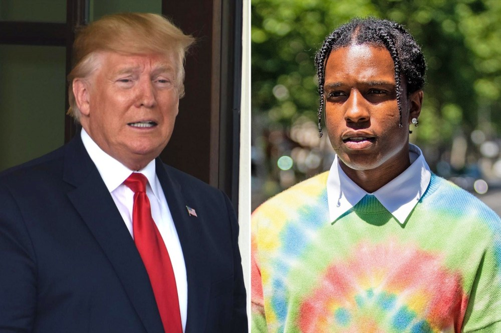 Donald Trump Offers to 'Personally Vouch' for ASAP Rocky's Bail