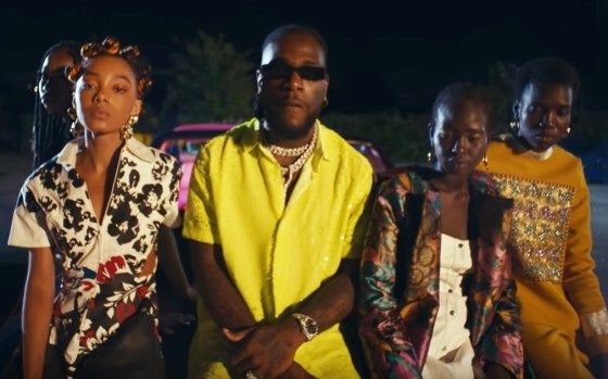 "Watch Burna Boy's ""Pull Up"" Music Video"