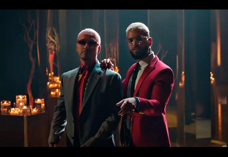 "Watch Maluma & J Balvin ""Qué Pena"" Music Video"