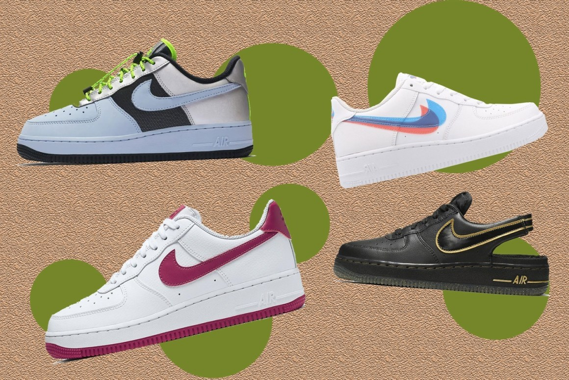 Here Are 5 Nike Air Force 1s to Add to Your Fall Rotation