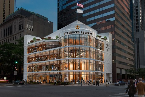 The World's Largest Starbucks Store to Open in Chicago